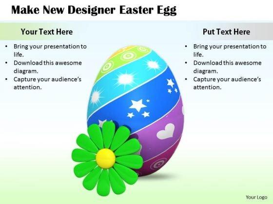 Stock Photo Marketing Concepts Make New Designer Easter Egg Business Images