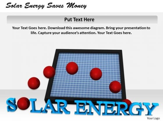 Stock Photo Marketing Concepts Solar Energy Saves Money Business Success Images