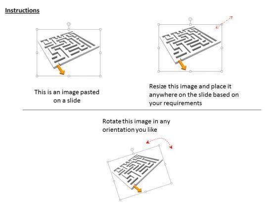 stock_photo_maze_with_arrow_powerpoint_slide_2