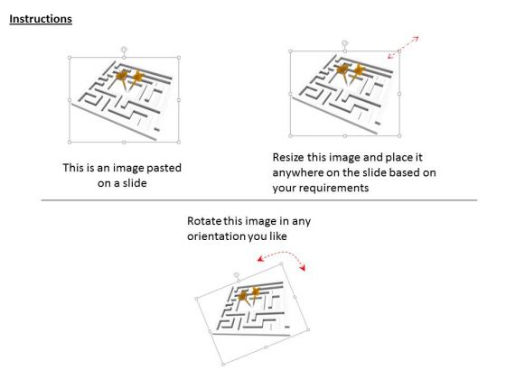 stock_photo_maze_with_arrows_powerpoint_slide_2