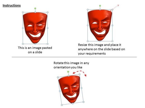 stock_photo_mixed_emotions_red_color_mask_powerpoint_slide_2