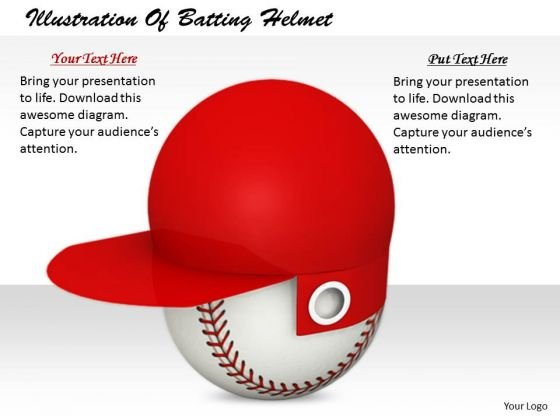 Stock Photo Modern Marketing Concepts Illustration Of Batting Helmet Business Images And Graphics