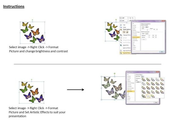 stock_photo_multicolor_butterflies_graphic_powerpoint_template_3