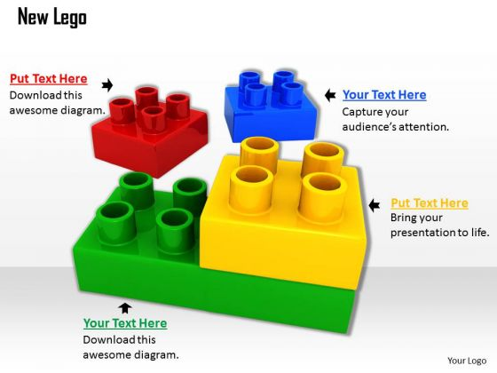 Stock Photo New Legos PowerPoint Slide