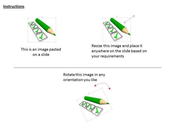 stock_photo_pencil_with_green_tick_marks_powerpoint_slide_2