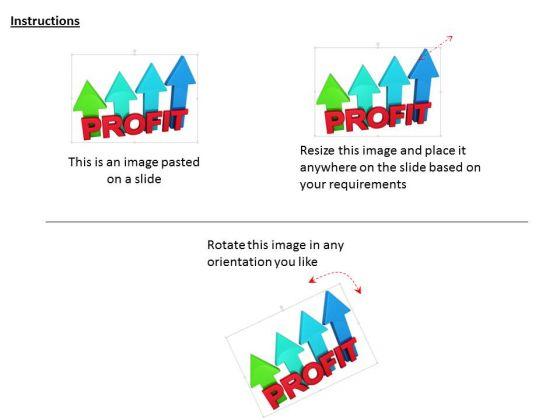 stock_photo_profit_colorful_arrows_graph_concept_powerpoint_slide_2