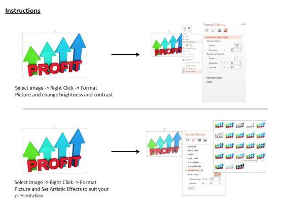 stock_photo_profit_colorful_arrows_graph_concept_powerpoint_slide_3