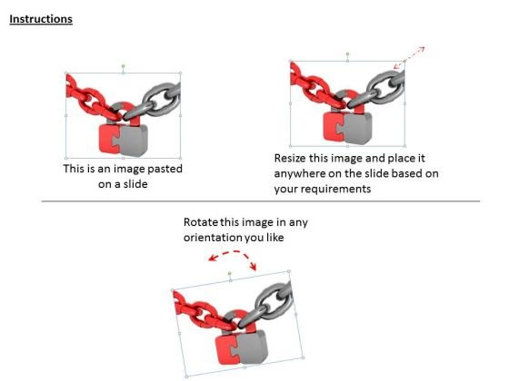 stock_photo_red_and_grey_chains_with_puzzle_lock_powerpoint_slide_2
