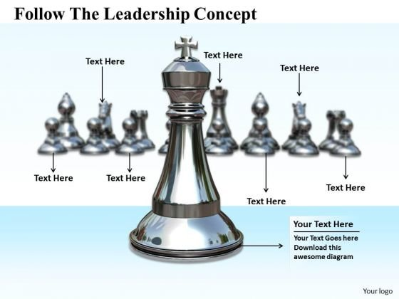 Stock Photo Sales Concepts Follow The Leadership Business Icons Images