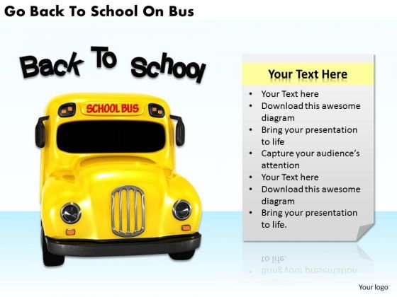 Stock Photo Sales Concepts Go Back To School Bus Business Images And Graphics