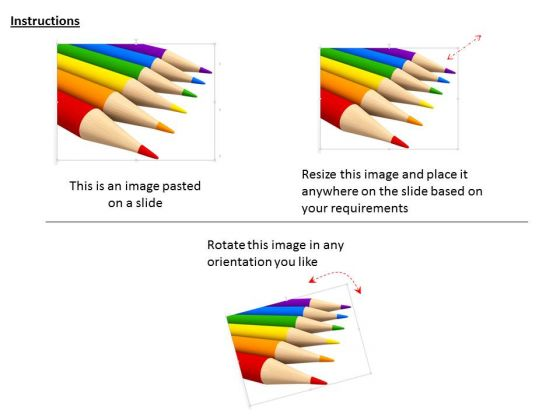 stock_photo_six_colorful_pencils_on_white_background_powerpoint_slide_2