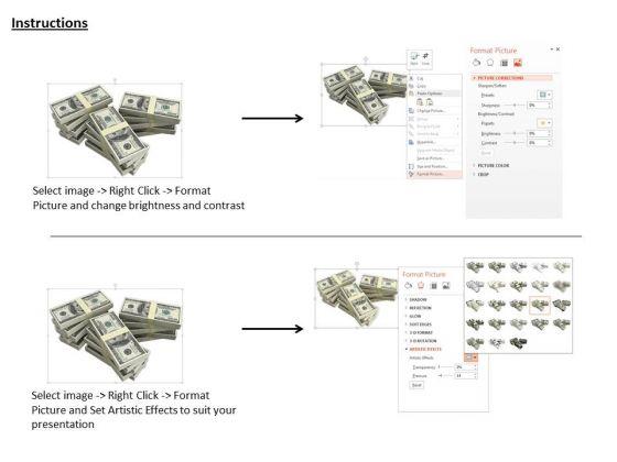 stock_photo_stack_of_american_dollar_bundles_powerpoint_slide_3