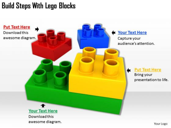 Stock Photo Total Marketing Concepts Build Steps With Lego Blocks Business Images Photos