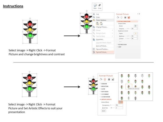stock_photo_traffic_light_with_signals_powerpoint_slide_3