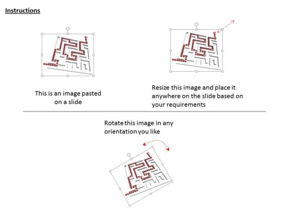 stock_photo_white_maze_with_red_solution_path_powerpoint_slide_2