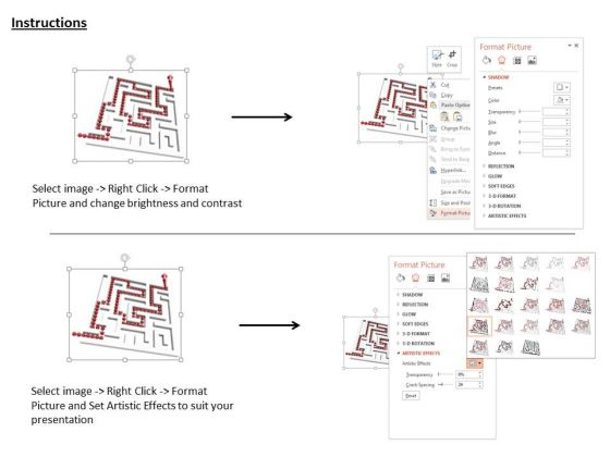 stock_photo_white_maze_with_red_solution_path_powerpoint_slide_3