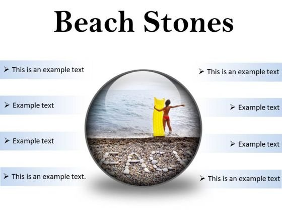 Stones Beach PowerPoint Presentation Slides C