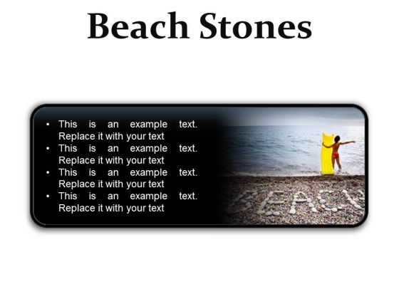 Stones Beach PowerPoint Presentation Slides R