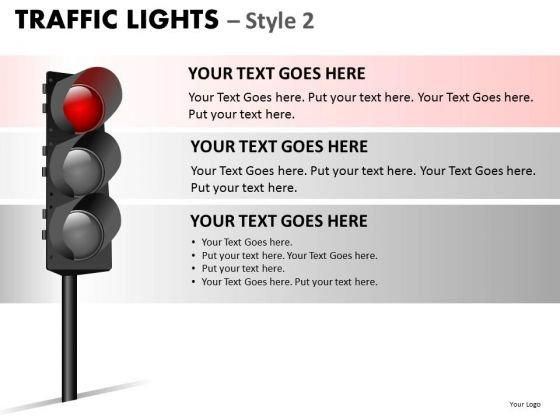 Stop Light Traffic Light PowerPoint Slides And Ppt Diagram Templates
