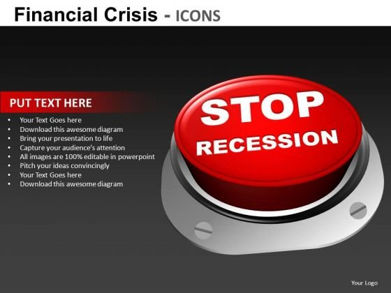Stop Recession PowerPoint Templates