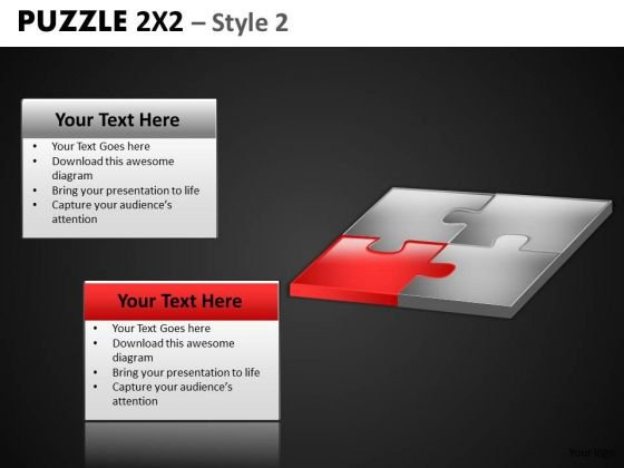 Strategic Fit Puzzle Strategy PowerPoint Templates And Business Puzzles Ppt
