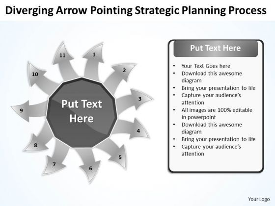 Strategic Planning Process Ppt Relative Circular Flow Arrow Diagram PowerPoint Templates