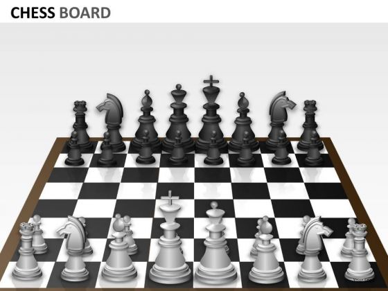 Strategy Chess Board PowerPoint Slides And Ppt Diagram Templates