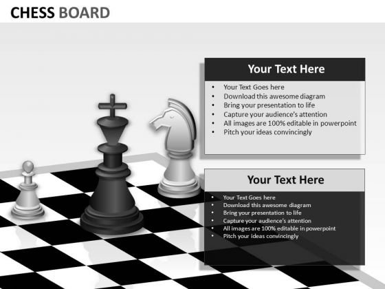 Strategy Chess Pieces Editable PowerPoint Slides Ppt Templates