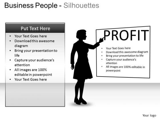Strategy For Profit Editable PowerPoint Slides And Ppt Templates