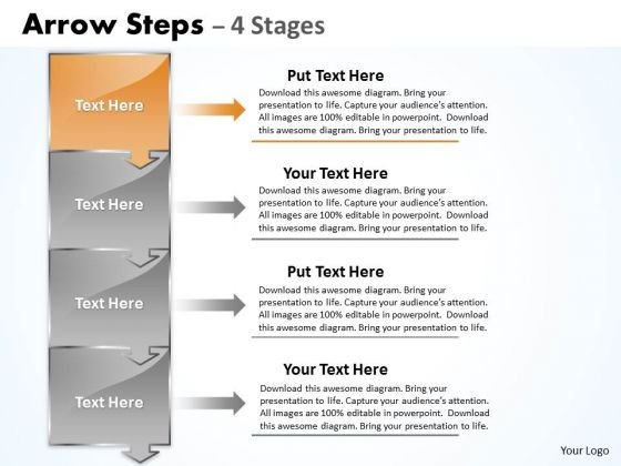 Strategy Ppt Arrow Steps 4 Phase Diagram Business Management PowerPoint 2 Graphic