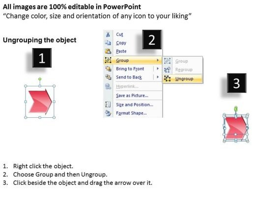 Strategy Ppt Theme Arrow Process 10 Power Point Stages