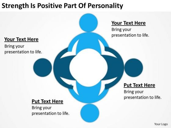 Strength Is Positive Part Of Personality Ppt Examples Business Plan Outline PowerPoint Templates