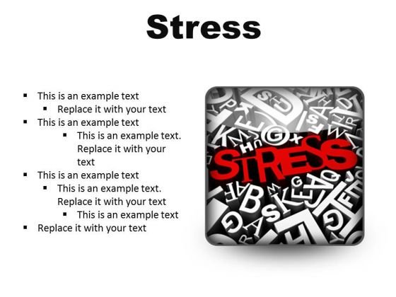 Stress Business PowerPoint Presentation Slides S