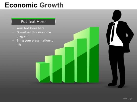 Strong Financial Leadership PowerPoint Templates