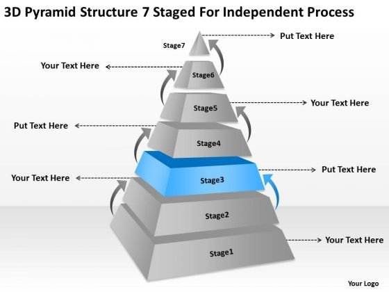 Structre 7 Staged For Independent Process Ppt Financial Advisor ...