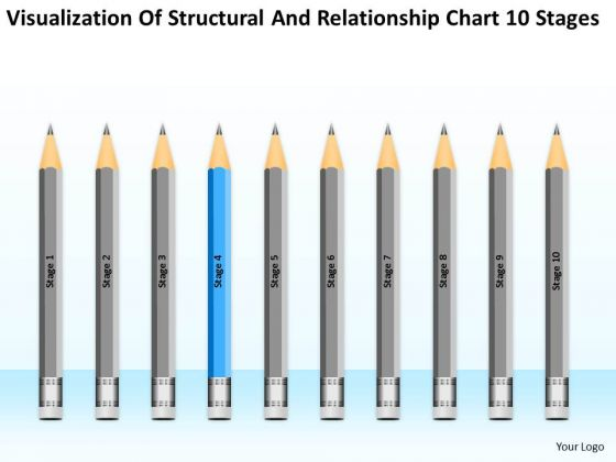 Structural And Relationship Chart 10 Stages Ppt Business Plan Steps PowerPoint Templates