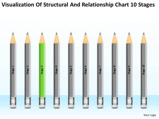 Structural And Relationship Chart 10 Stages Ppt Business Planning PowerPoint Templates