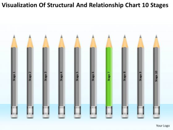 Structural And Relationship Chart 10 Stages Ppt Help With Business Plan PowerPoint Templates