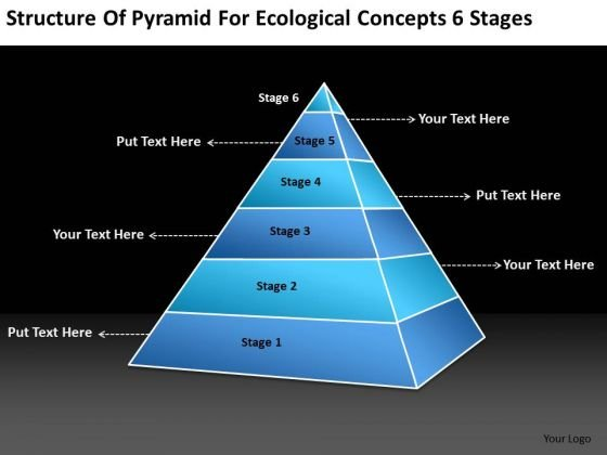 Structure of pyramid for ecological concepts 6 stages simple structure of pyramid for ecological concepts 6 stages simple business plan powerpoint templates powerpoint templates cheaphphosting Images
