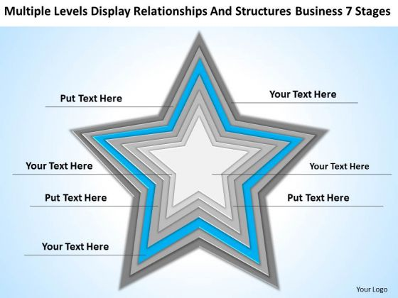 Structures Business 7 Stages Ppt How To Design Plan PowerPoint Slides