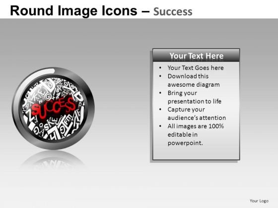 Success Image For PowerPoint Presentation Slides