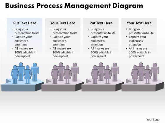 Success PowerPoint Template Business Process Management Diagram Business Design