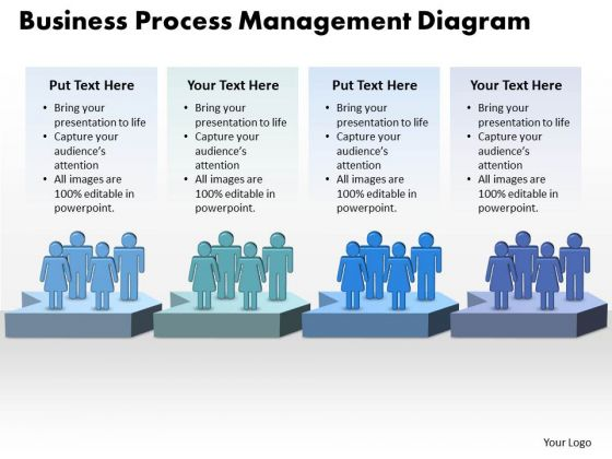 Success PowerPoint Template Business Process Management Diagram Design