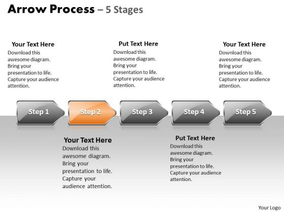 Success Ppt Arrow Process 5 Power Point Stage Style 1 Project Management PowerPoint 3 Graphic