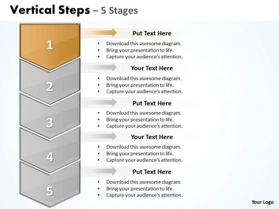 Success Ppt Background Vertical Practice The PowerPoint Macro Steps 5 1 2 Graphic