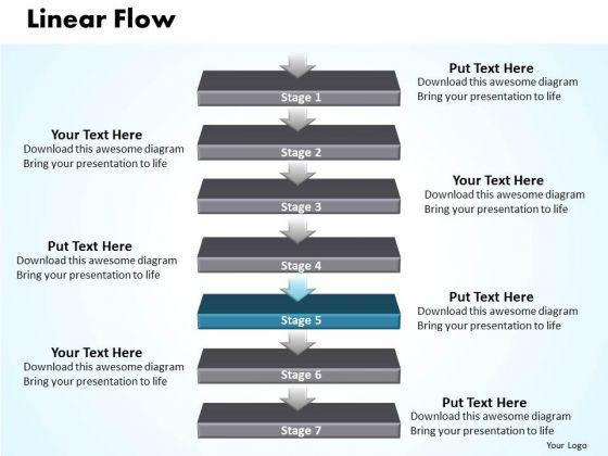 Success Ppt Non-linear PowerPoint Flow 7 Stages Time Management 6 Design