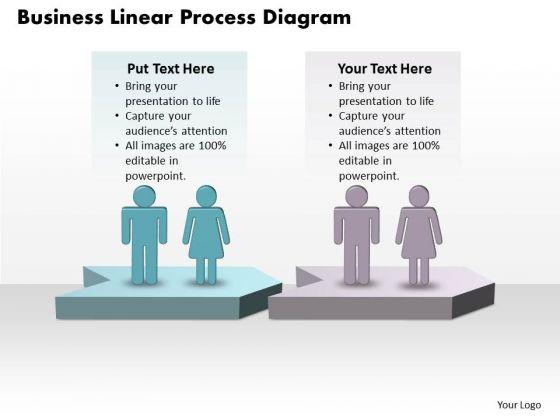 Success Ppt Template World Business PowerPoint Charts Linear Process Diagram 2 Design