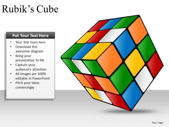 Success Rubiks Cube PowerPoint Presentation Templates And Rubiks Cube Ppt Slides