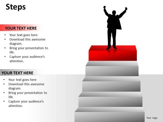 Success Steps PowerPoint Slides And Ppt Diagram Templates