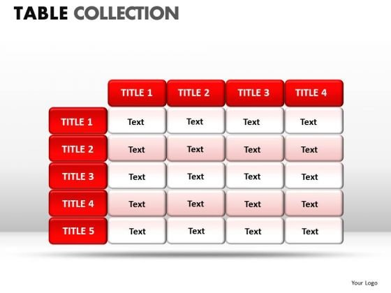 Success Table Collection PowerPoint Slides And Ppt Diagram Templates